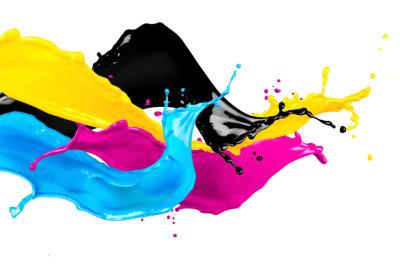 splash of different colors