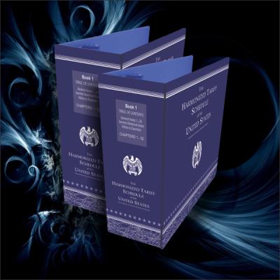HTS & US Custom Reg Binders / 3 Folders