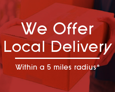 we offer local delivery